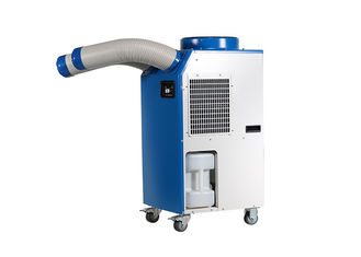 R410A Refrigerant Spot Cooler Rental 7.4A Double Ducts Against Walls On 3 Sides